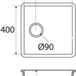 Basic BC C604 40×40 E