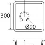 Basic BC C605 30×30 E