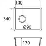 Basic BC C825 40×34 E