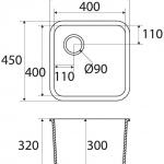 Basic BC L601 40×40 E