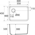 Basic BC L801 55×40 E
