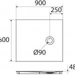 Unique P801 90×80