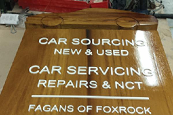 Fagans | Signage